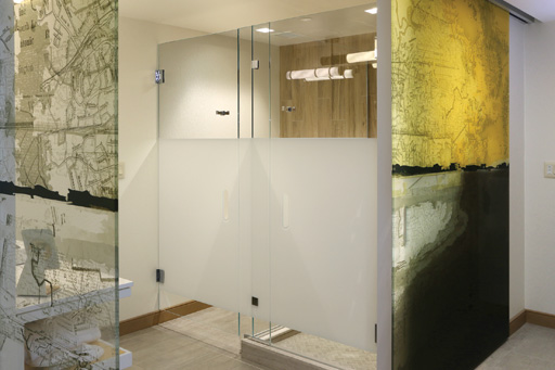 Envoy Hotel, Boston MA, Glass Shower Doors, Bathroom Glass